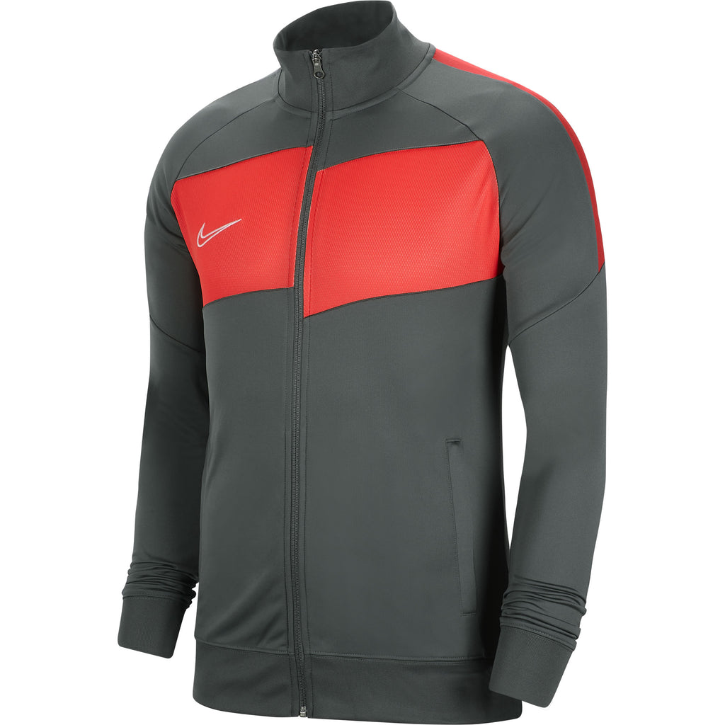 Nike Academy Pro Knit Jacket (Anthracite/Bright Crimson)