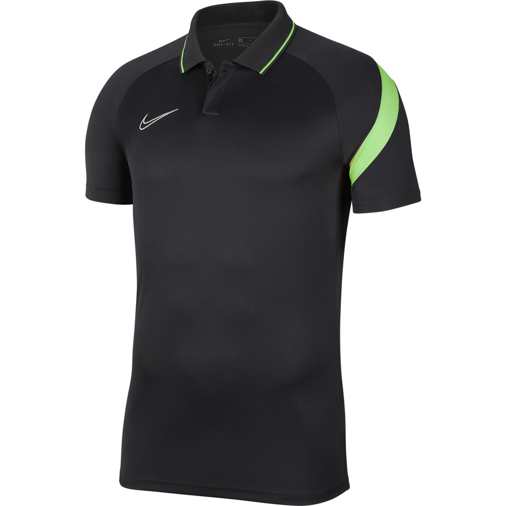 Nike Academy Pro Polo Shirt (Anthracite/Green Strike)