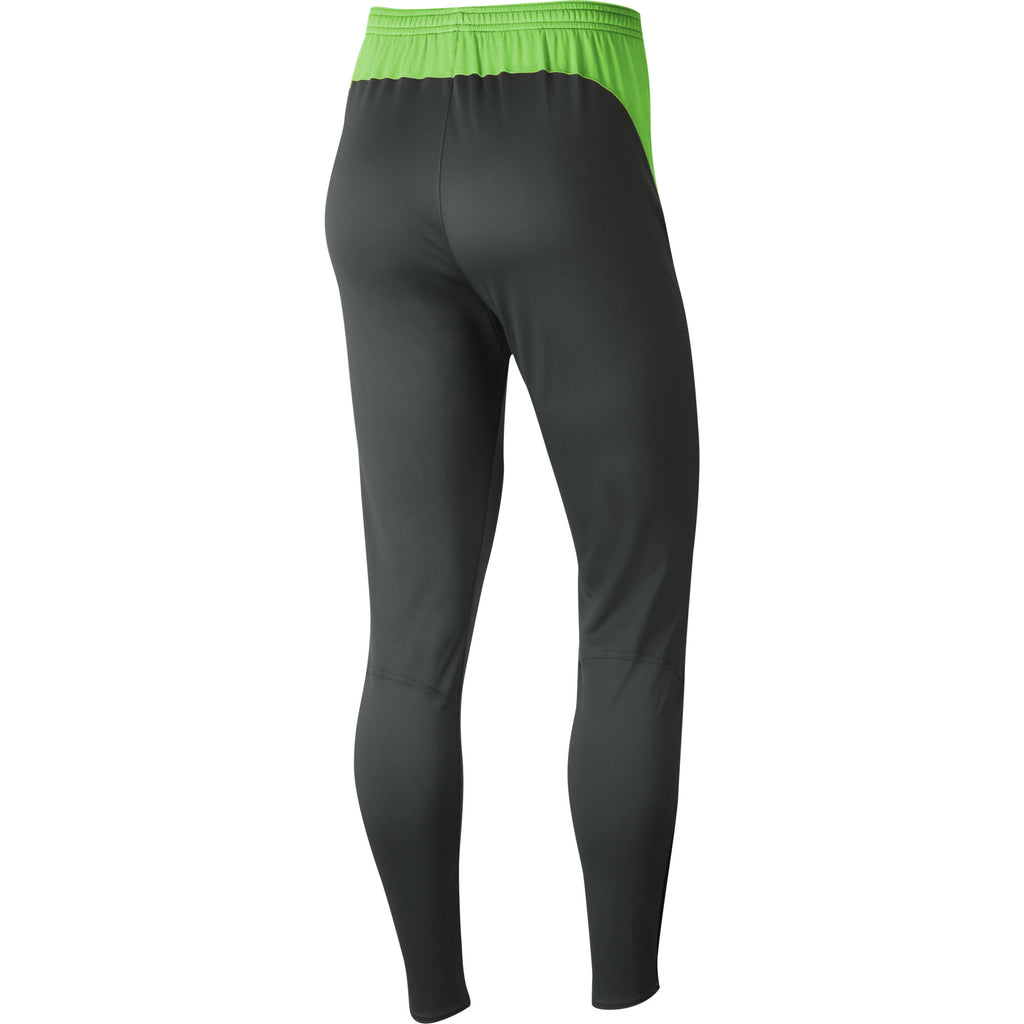 Nike Womens Academy Pro Knit Pant (Anthracite/Green Strike)