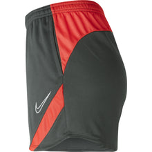 Load image into Gallery viewer, Nike Womens Academy Pro Knit Short (Anthracite/Bright Crimson)