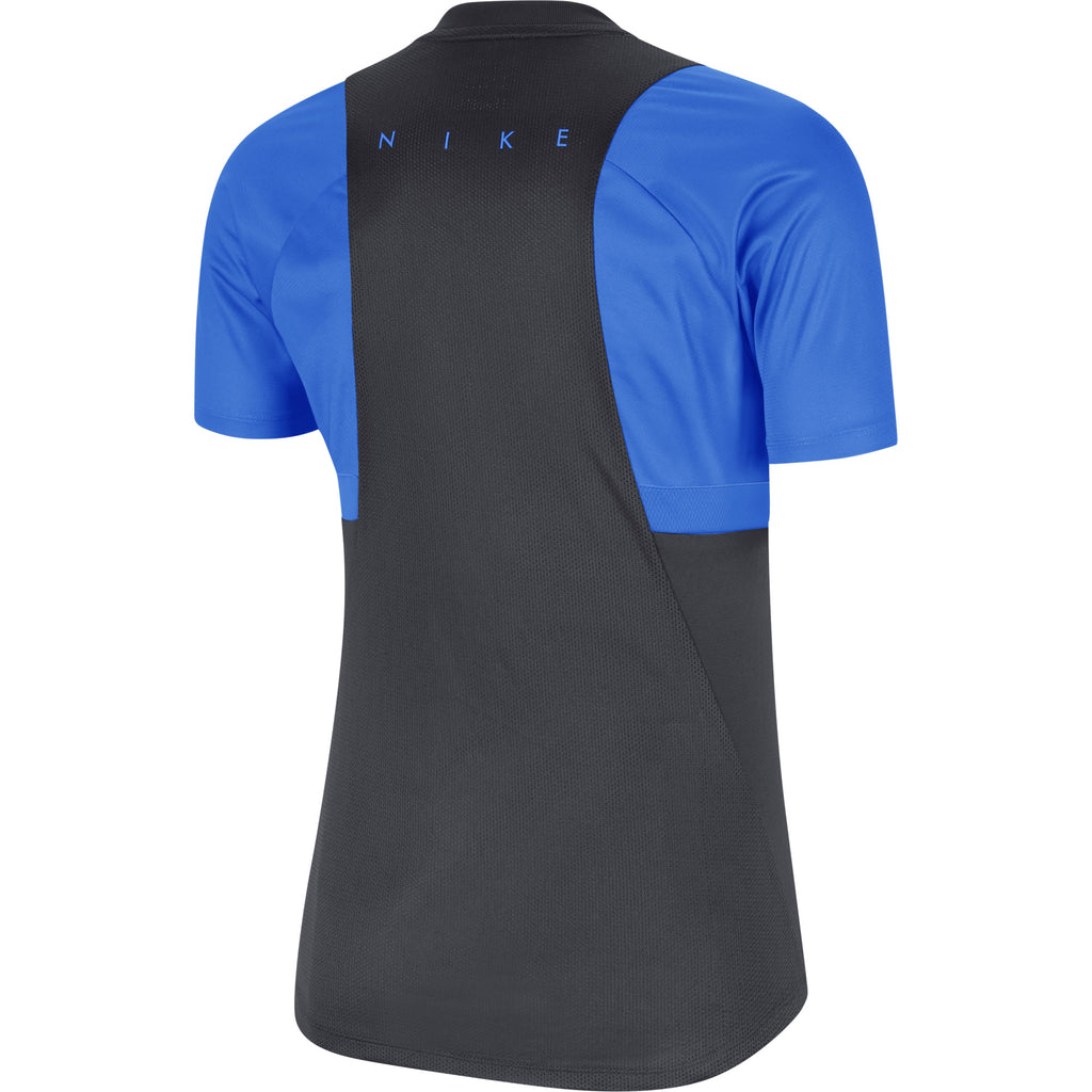 Nike Womens Academy Pro Training Top (Anthracite/Photo Blue)