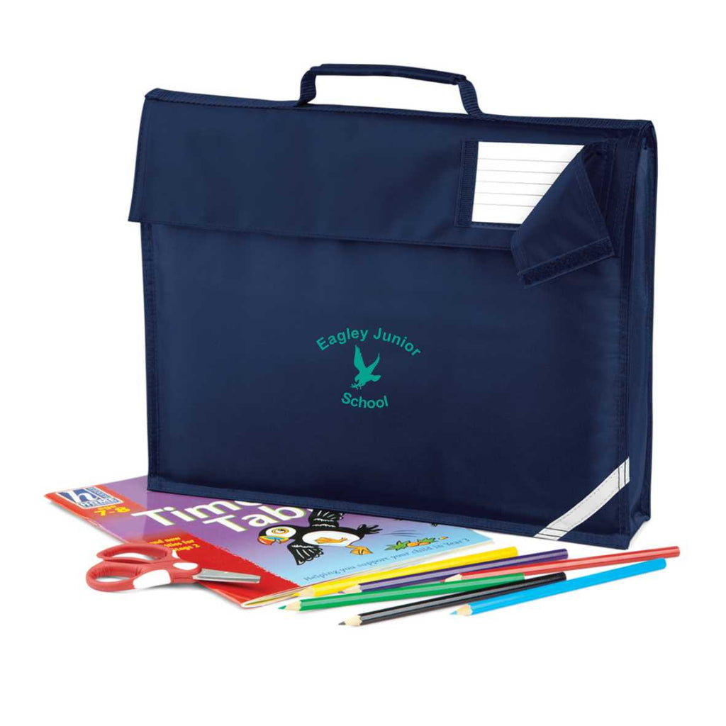 Eagley Junior School Book Bag (French Navy)