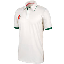 Load image into Gallery viewer, Gray Nicolls Pro Performance SS Shirt (Ivory/Green)