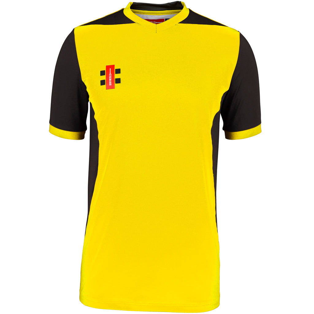 Gray Nicolls Pro Performance T20 SS Shirt (Yellow/Black)