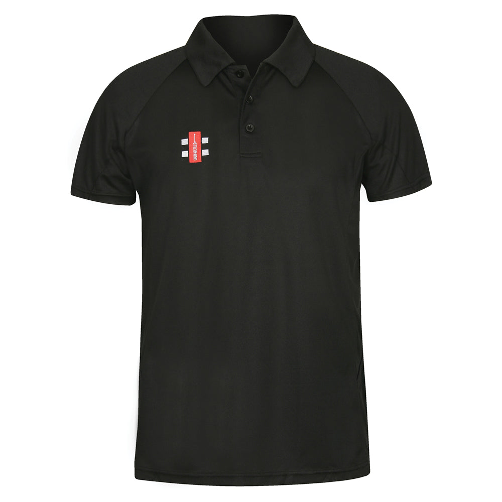 Gray Nicolls Matrix Polo Shirt (Black)