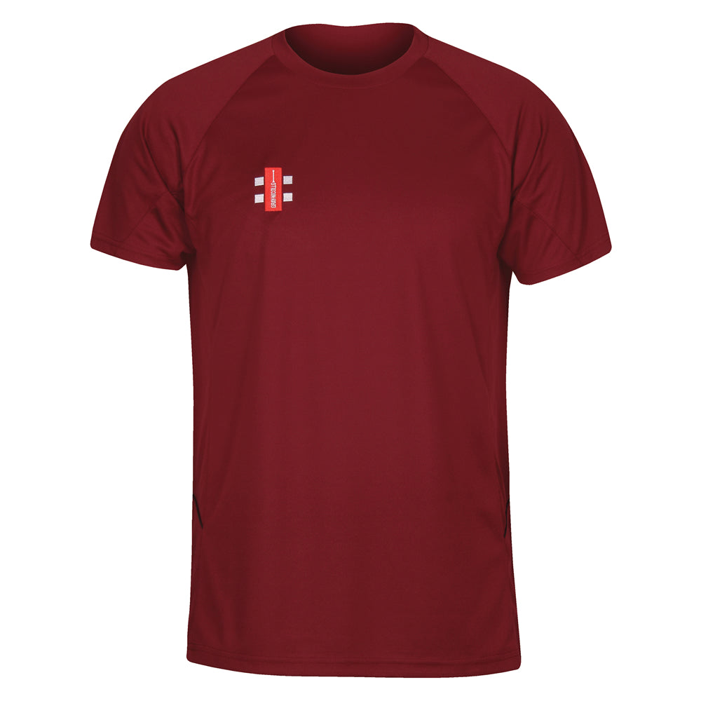 Gray Nicolls Matrix Tee Shirt (Maroon)