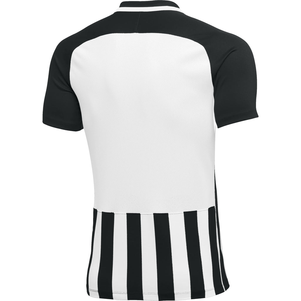 Nike Womens Striped Division III SS Football Shirt (Black/White)