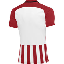 Load image into Gallery viewer, Nike Womens Striped Division III SS Football Shirt (University Red/White)