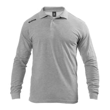 Load image into Gallery viewer, Errea Team Colours Long Sleeve Polo Shirt (Grey)
