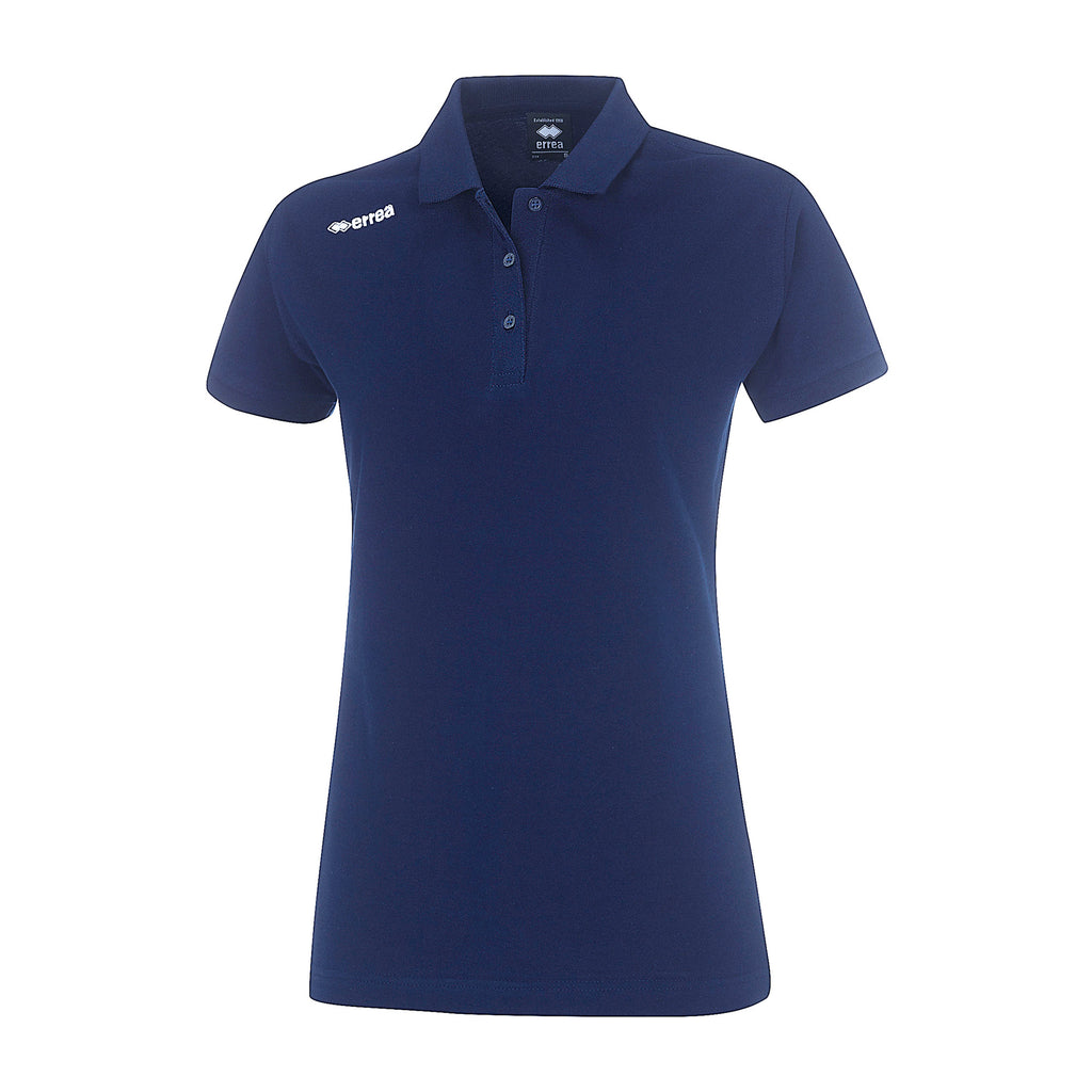 Errea Women's Team Colours Polo Shirt (Navy)