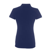 Load image into Gallery viewer, Errea Women's Team Colours Polo Shirt (Navy)