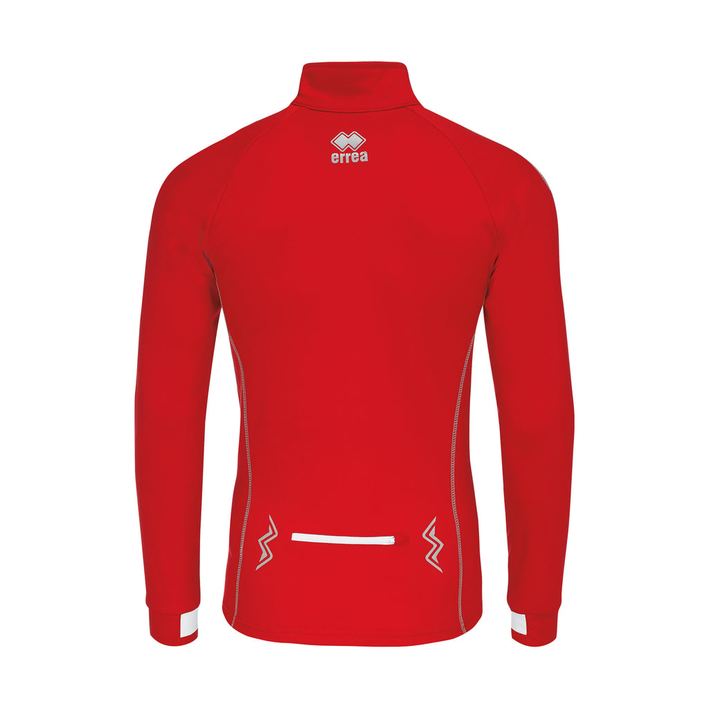 Errea Fartlek Midlayer Top (Red/White)