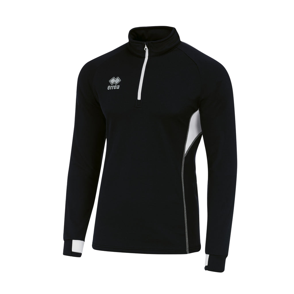 Errea Fartlek Midlayer Top (Black/White)