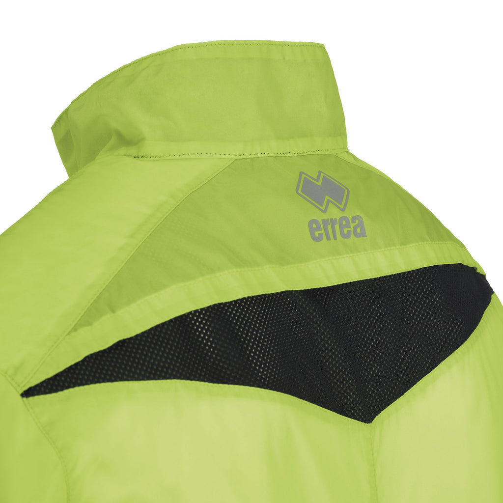 Errea Dwyn Jacket (Green Fluo/Black)
