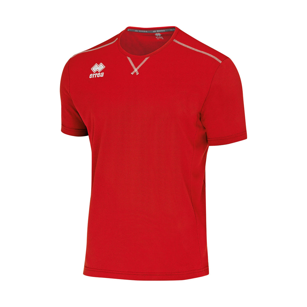 Errea Everton Short Sleeve Shirt (Red)