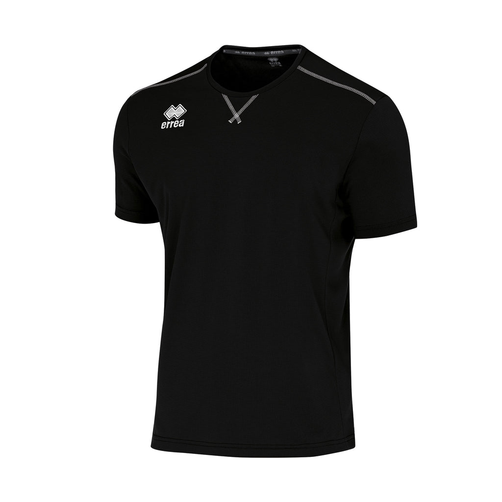 Errea Everton Short Sleeve Shirt (Black)