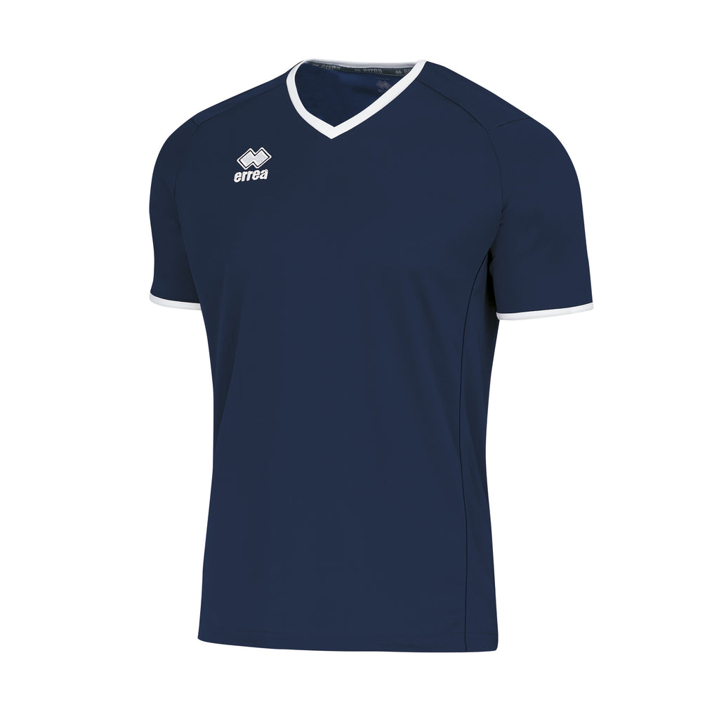 Errea Lennox Short Sleeve Shirt (Navy/White)