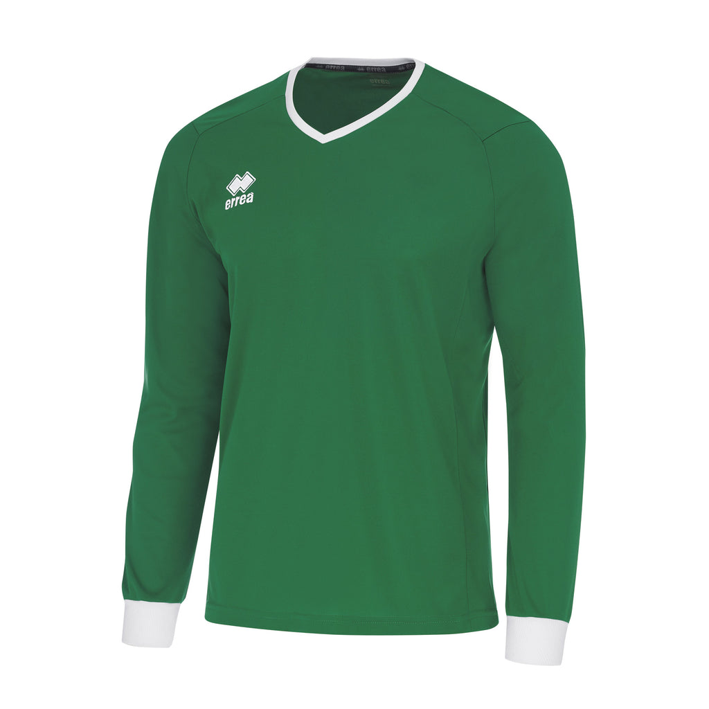 Errea Lennox Long Sleeve Shirt (Green/White)