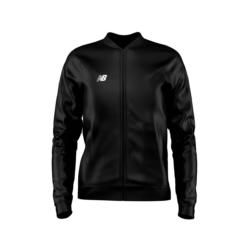 New Balance Womens Teamwear Training Jacket Knitted (Black)