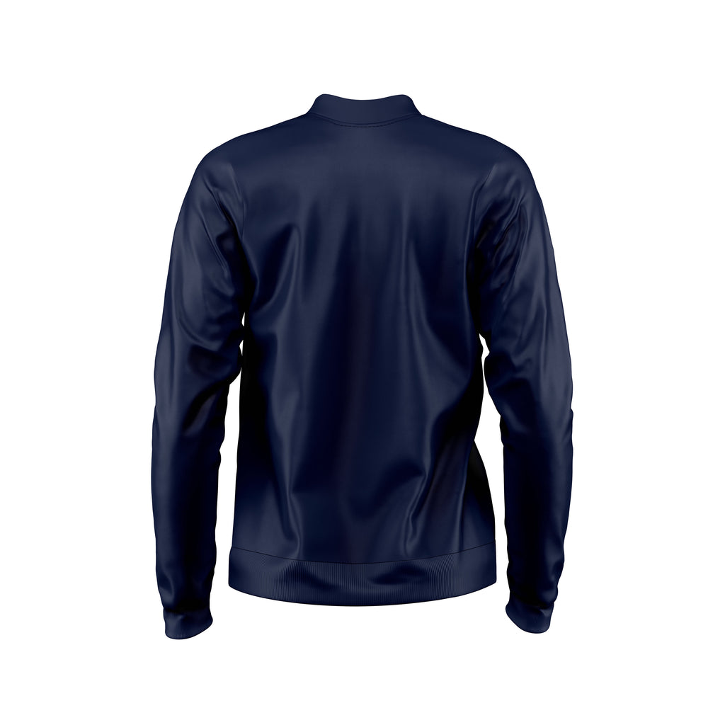 New Balance Womens Teamwear Training Jacket Knitted (Navy)