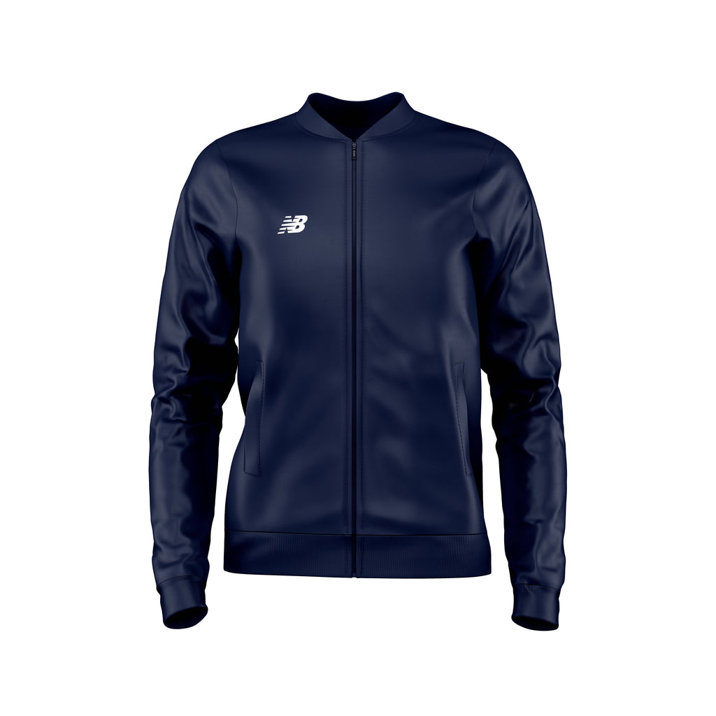 New Balance Womens Teamwear Training Jacket Woven (Navy)