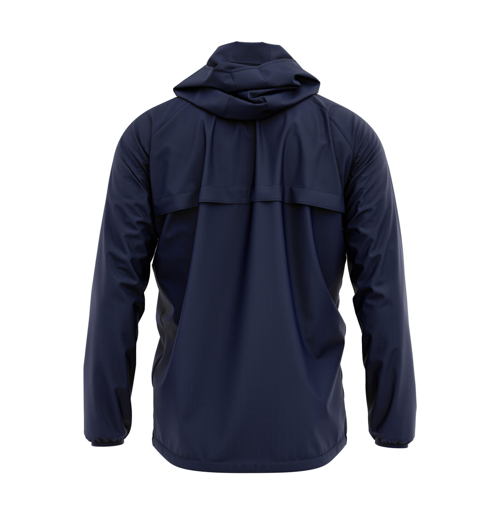 New Balance Womens Teamwear Training Rain Jacket (Navy)
