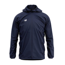 Load image into Gallery viewer, New Balance Womens Teamwear Training Rain Jacket (Navy)