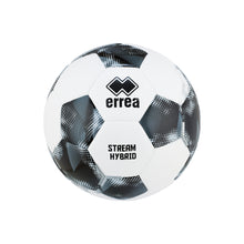 Load image into Gallery viewer, Errea Stream Hybrid Football (White/Black/Anthracite)