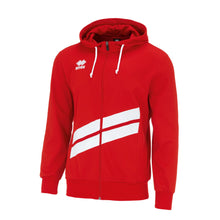 Load image into Gallery viewer, Errea Jill Full Zip Hoodie (Red/White)
