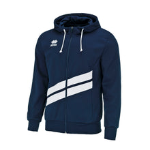 Load image into Gallery viewer, Errea Jill Full Zip Hoodie (Navy/White)
