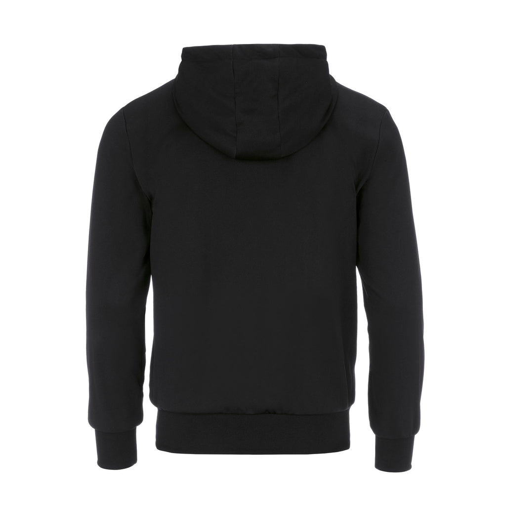 Errea Jill Full Zip Hoodie (Black/After Eight)
