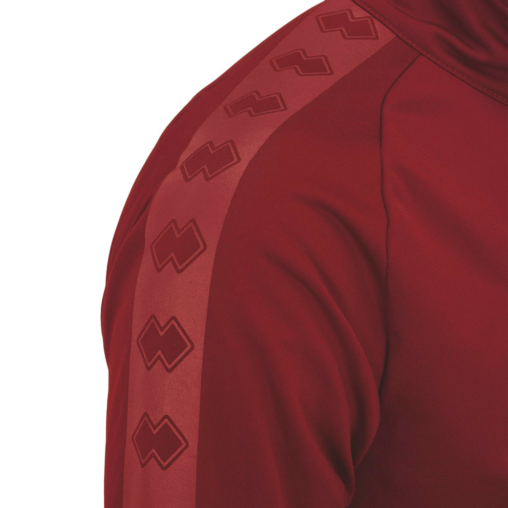 Errea Spring 3.0 Full Zip Jacket (Maroon)