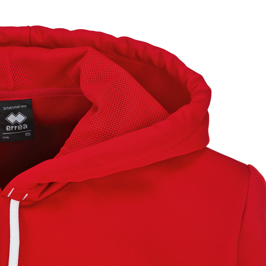 Errea Jonas Hooded Top (Red)