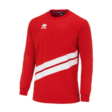 Load image into Gallery viewer, Errea Julio Crew Sweatshirt (Red/White)