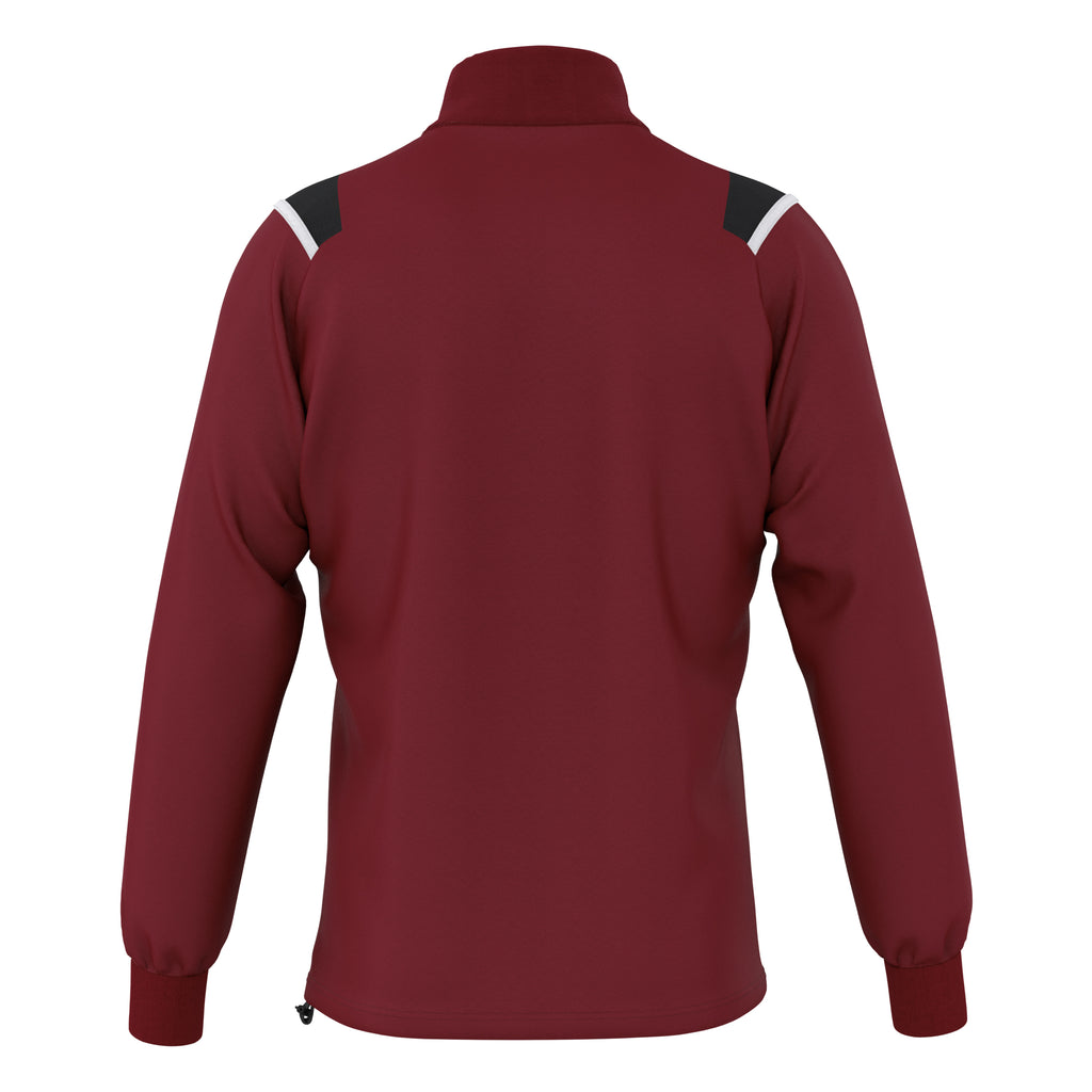Errea Lars Midlayer Top (Maroon/Black/White)