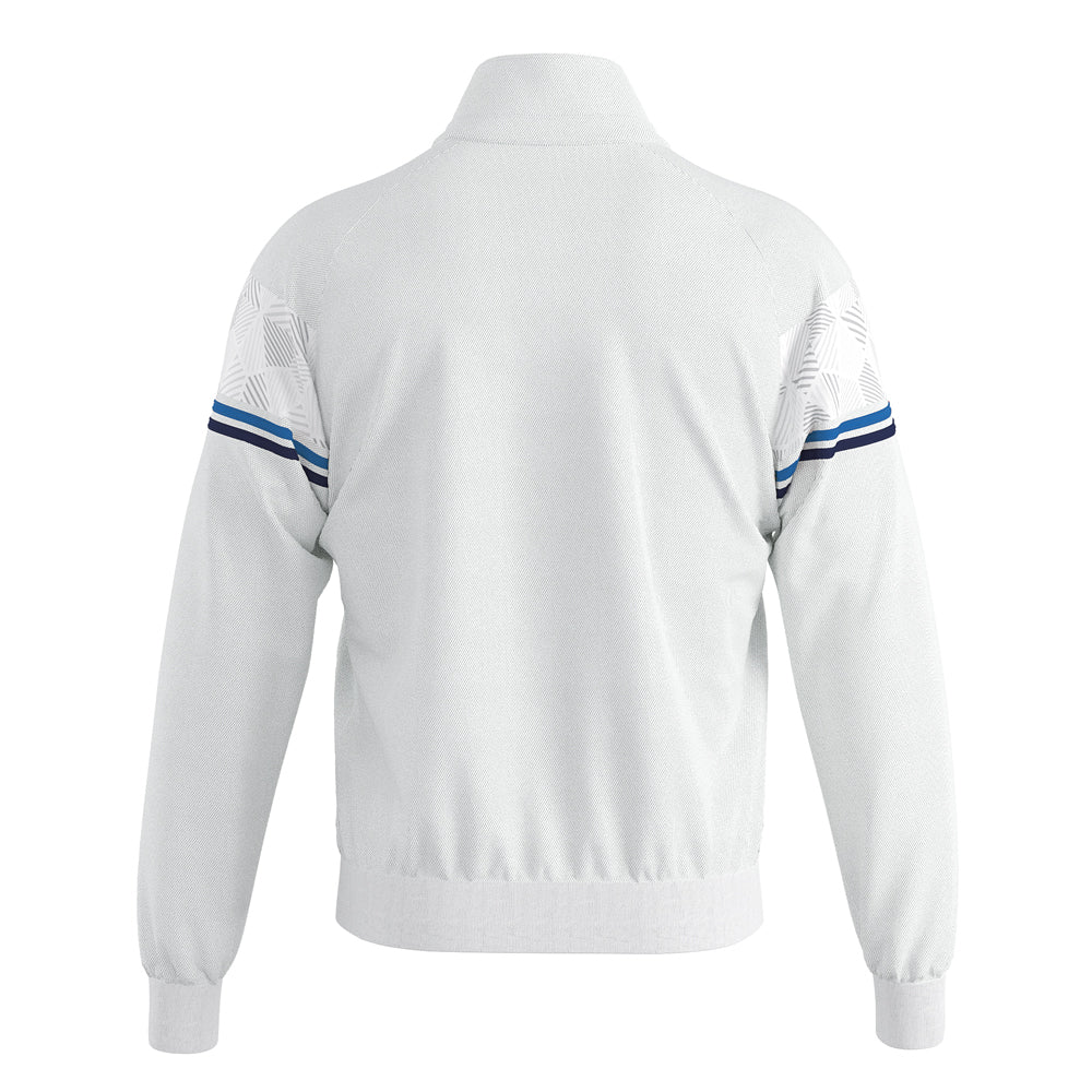 Errea Donovan Full-Zip Jacket (White/Blue/Navy)