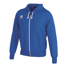 Load image into Gallery viewer, Errea Jacob Full Zip Hooded Top (Blue)