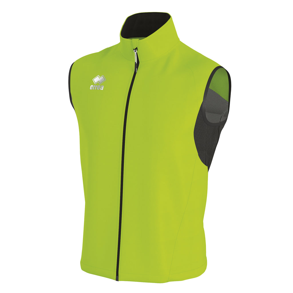 Errea Wem Running Top (Green Fluo)