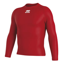 Load image into Gallery viewer, Errea Daris Long Sleeve Baselayer (Red)