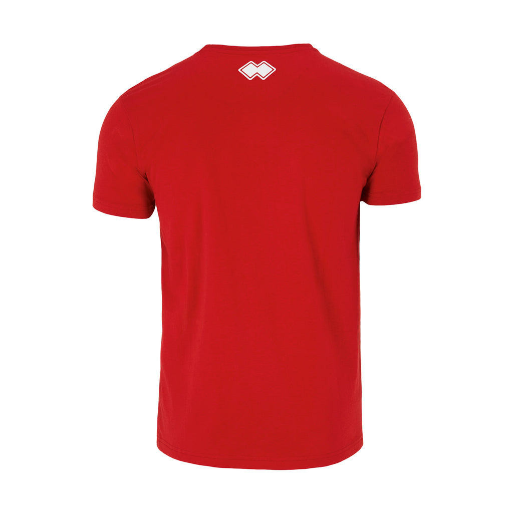 Errea Professional 3.0 Cotton T-Shirt (Red)