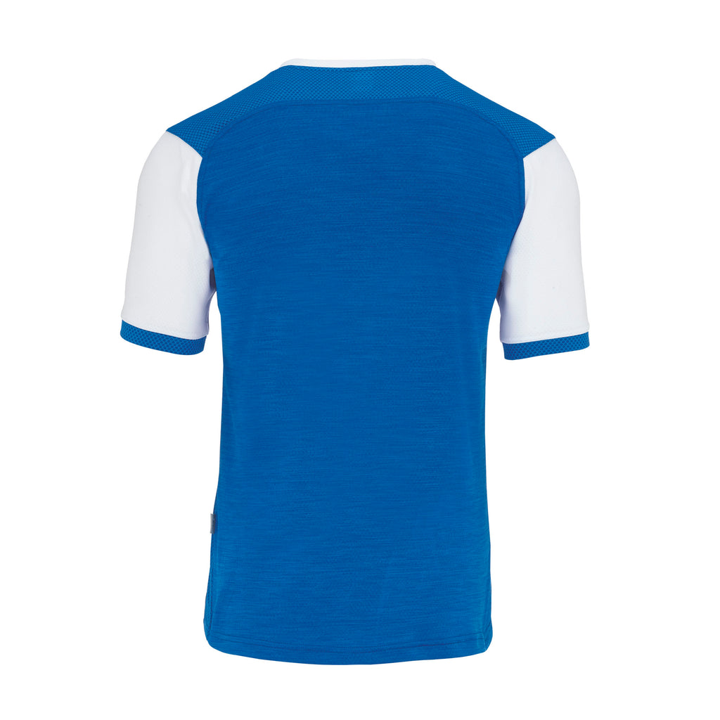 Errea Hiro Short Sleeve Shirt (Blue/White)
