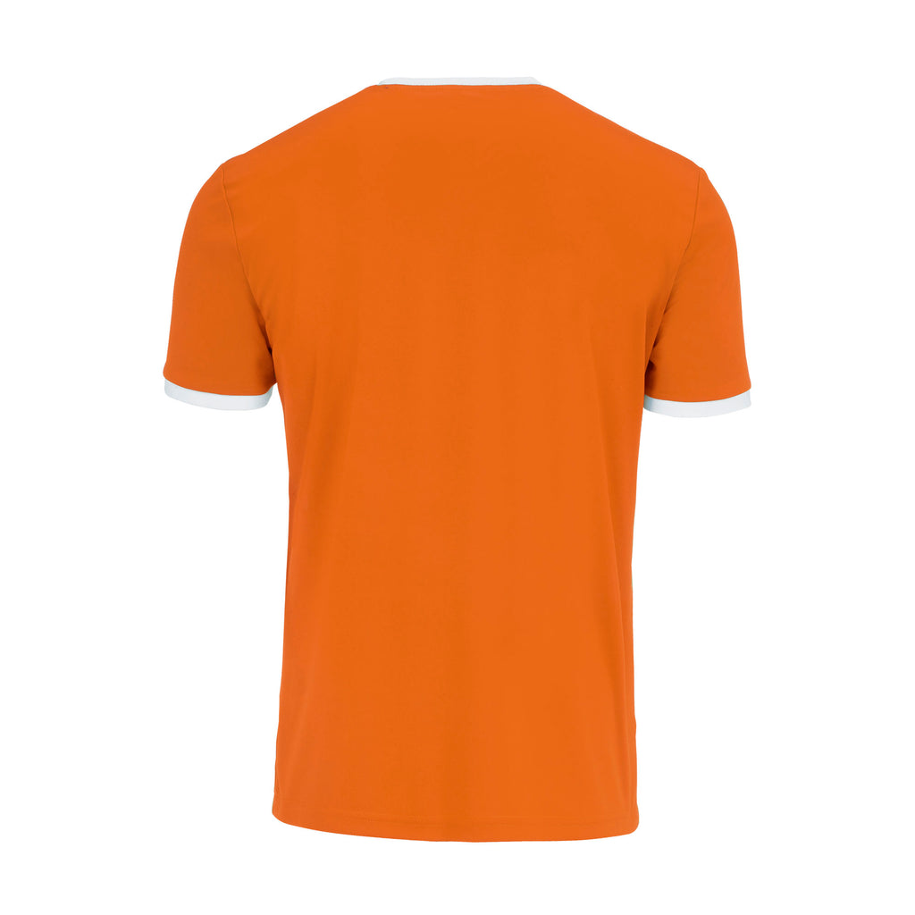 Errea Jaro Short Sleeve Shirt (Orange/White)