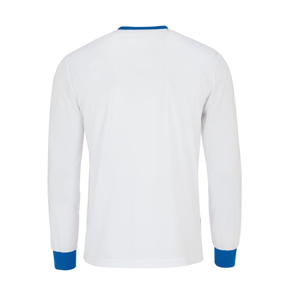 Errea Jaro Long Sleeve Shirt (White/Blue)