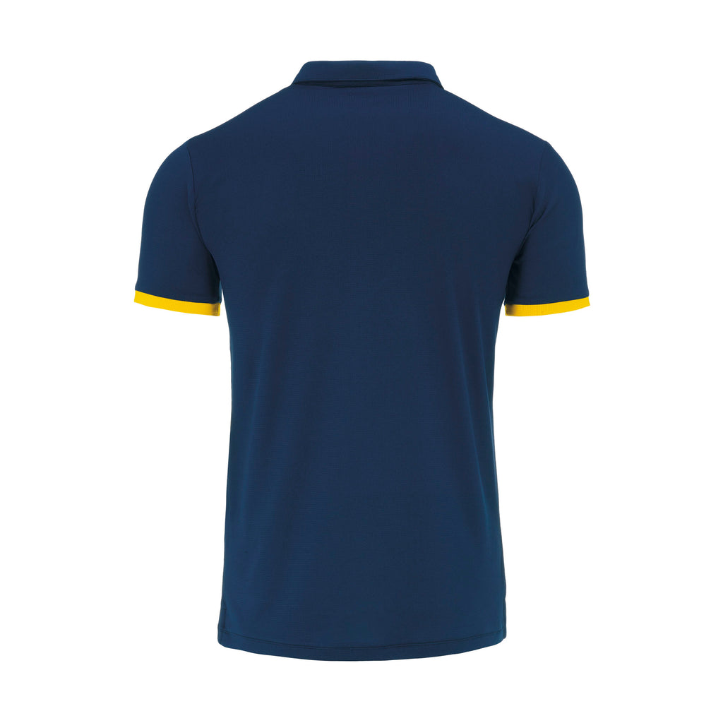 Errea John Polo Shirt (Navy/Yellow)