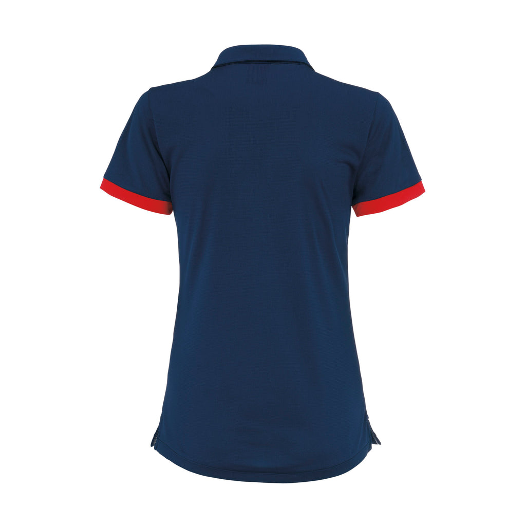 Errea Women's Jana Polo Shirt (Navy/Red)