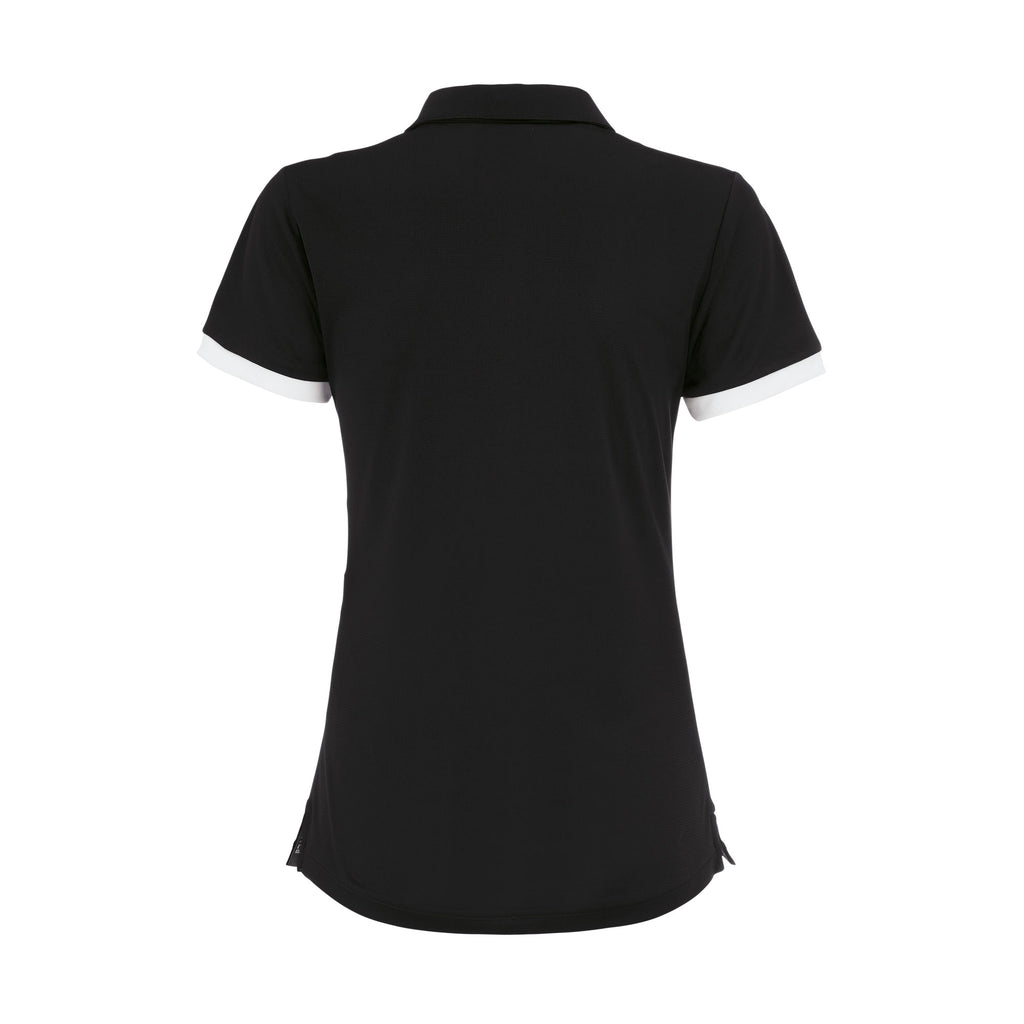 Errea Women's Jana Polo Shirt (Black/White)