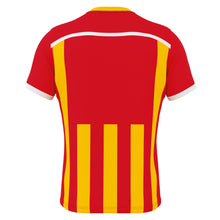 Load image into Gallery viewer, Errea Elliot Short Sleeve Shirt (Red/Yellow)