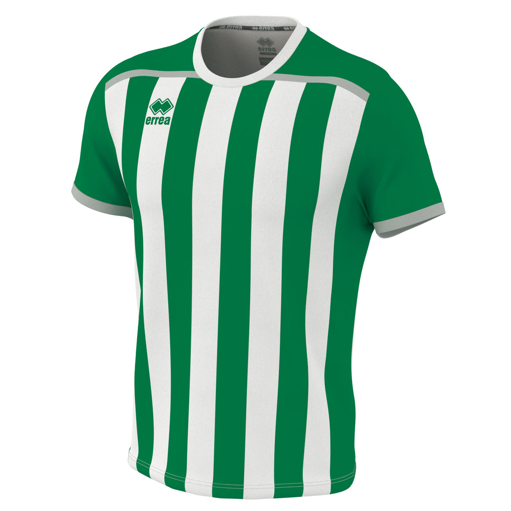 Errea Elliot Short Sleeve Shirt (Green/White)