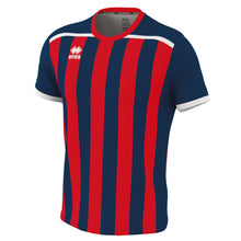 Load image into Gallery viewer, Errea Elliot Short Sleeve Shirt (Navy/Red)