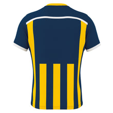 Load image into Gallery viewer, Errea Elliot Short Sleeve Shirt (Navy/Yellow)
